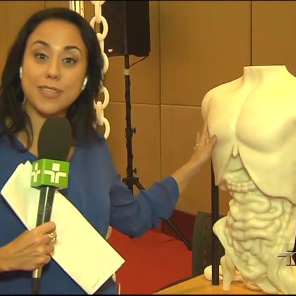 Inside 3D Printing no Jornal da Cultura, exibido em 09/03/2015